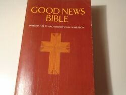 Good News Bible-today's English Version-nelson 350 Soft Cover 1978