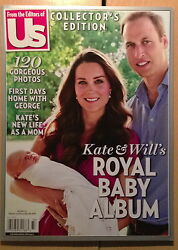 Us Weekly Kate And Will's Royal Baby Album,kate Middleton,william,royal Family New