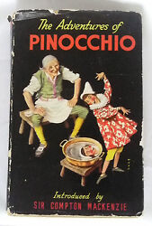 The Adventures Of Pinocchio By Charles Collodi, Illustrations By A.h.watson Hb