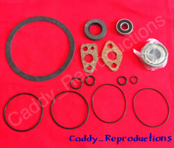 1952 After Engine 86400 1953 All Cadillac Power Steering Pump Rebuild Kit