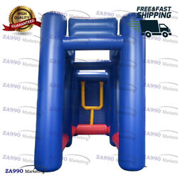 20x8.2ft Inflatable Rugby / Football Goal Sport Game With Air Blower