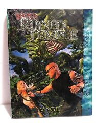 Secrets Of The Ruined Temple For Mage The Awakening Rpg 2006, Hardcover New