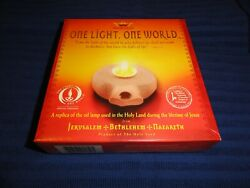 The Millennium Collection Clay Oil Lamp With Numbered Certificate