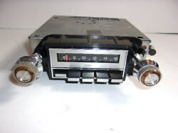 Vintage Gm Factory Delco Am Radio W/knobs Model 9346723 Oldsmobile Cutlass Other