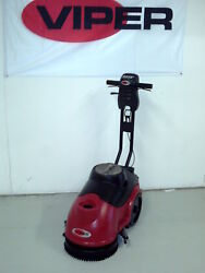 Viper As380b Battery Powered Small Area 15 Inch Floor Scrubber Drier 24 Volt
