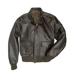 Cockpit Usa Wwii Government Issue A-2 Jacket Z2107h Made In Usa