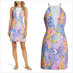 (5-8)New lilly pulitzer Pearl Shift Dress size 2468