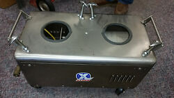 Original Deep Steam Model 12 Carpet Cleaning Equipment With Tanks Hoses Wand