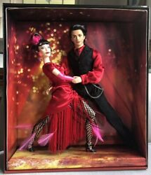 Tango Dance Barbie And And Ken Doll Together Gift Set Vg