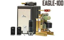 Eagle 100 Swing Gate Opener System For 18'feet Or 600lbs Homes Operator System