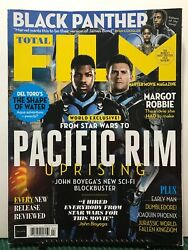 Total Film Pacific Rim Uprising Exclusive Black Panther 268 Free Shipping Jb