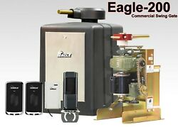 Swing Gate Operator Eagle 200 1/2hp Commercial Grade Automatic Gates Opener New