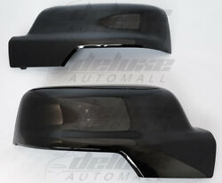 Gloss Black Clip-on Replacement Mirror Covers For 2019-2021 Dodge Ram 1500 New