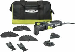 Rockwell Rk5132k 3.5 Amp Sonicrafter F30 Oscillating Multi-tool With 32...