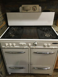 Antique 1940s Gaffers And Sattler Gas Stove - Works Great