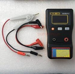 Mesr-100 V2 Esr/low Ohm In Circuit Test Capacitor Meter With Smd Clip Probe Usa