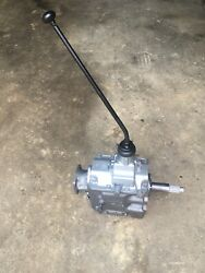 Np435 Ford F600 4 Speed Transmission W/shifter 65k Original Miles No Shipping