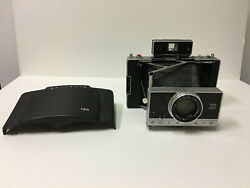 Vintage Polaroid 195 Land Camera In Good Condition But Cover Is Broken.