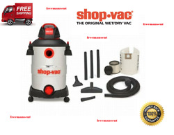 Shop-vac 12 Gallon 6 Peak Hp Stainless Steel Wet/dry Vacuum With Blower New