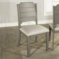 Hillsdale Clarion Dining Side Chair In Fog