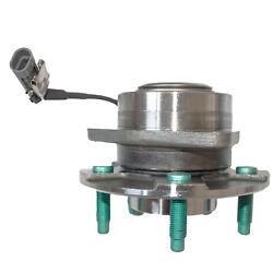 Front Wheel Hub And Bearing Left Or Right For 02-07 Saturn Pontiac Chevy W/abs