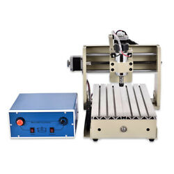 3 Axis 300W CNC 3020 Router Engraving Machine Parallel Port Mill Carving Cutter