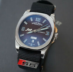 Luxury Armand Nicolet Automatic Watch Swiss Made With Genuine Audi S5 Badge