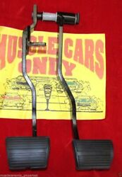 64 65 66 Chevelle El Camino 4 Speed Stick Shift Clutch Brake Pedals And Pads