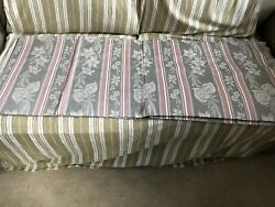 Antique Vintage French Ticking Fabric