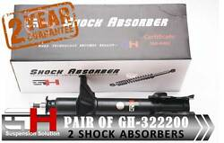 2 NEW REAR OIL SHOCK ABSORBERS FOR NISSAN SUNNY N14 100NX GH-322200K