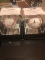 2 Aaron Judge New York Yankees Signed Baseball From Fanatics And Jersey 99 Sig