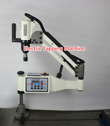 New Powerful M6-m30 Universal 360anddeg Angle Electric Tapping Machine 220v T