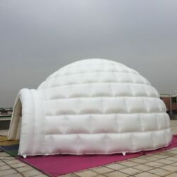 26' 8m Promotional Inflatables Event Signs Giant Igloo Dome Free Logo