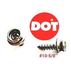 Dot Boat Canvas Stainless Steel Snap Stud Screw Oversized 10 5/8 Pick Qty