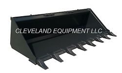 New 60 Tooth Bucket Skid Steer Loader Compact Tractor General Purpose Teeth 5and039