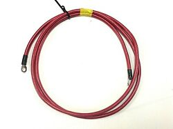 Red Battery Cable 4 Awg 8and039 With Terminal Ends Boat / Marine