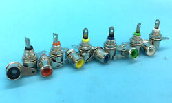 6 Colors Video Audio Rca Phono Chassis Panel Mount Female Rca Socket Connectors