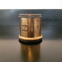 Gasc And Charconnet Actinic Triplet Lens Early Brass Large Format 4x5 Wet Plate