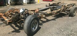 01-10 Extended Cab Short Bed Rolling Chassis Frame Chevy Gmc K2500hd 3.73 11.5
