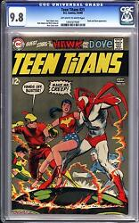 Teen Titans 21 Cgc 9.8 Ow White Pages Neal Adams Art Highest Certified