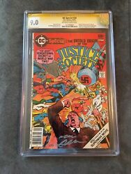 Dc Special 29 Cgc 9.0 Signed By Neal Adams Hitler Cover Origin Jsa