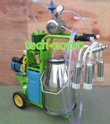 Electric Milk Milking Machine Pision Milking For Cows Or Goats Sheep 110v/220v