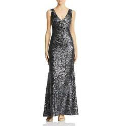 Laundry by Shelli Segal Embroidered Sequin Gown MSRP $298 Size 0 # 12B 234 NEW