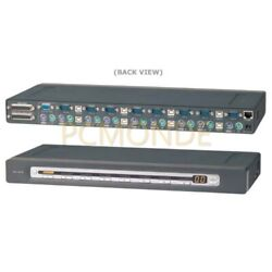 Belkin 8port Omniview Pro2 Kvm Switch Osd Rack Ps2/usb With 8 Ps2 Cable Kits