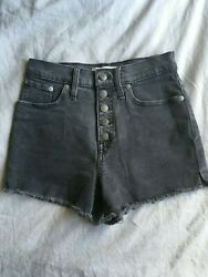 Made Well High Waisted Button Fly
