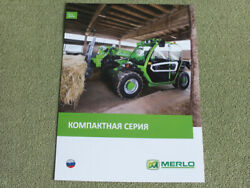 Merlo Panoramic 27.6 Compact Farm Agricultural Loader Tractor Brochure Prospekt
