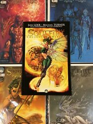 Soulfire 1 Collected Edition + Dying Of The Light 2-5 Comic Book Mix Lot Turner