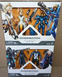 Hasbro Blizzard Overwatch Ultimates 6 Solider 76 Ana Mercy Pharah 2-pack Set