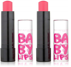 Maybelline New York Baby Lips Lip Balm Electro Pink Shock 70 0.15 Oz 2 Pack