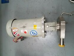 Fristam 7-1/2 Hp Liquid Pump Model Fpx722001747 Stainless Steel Dairy Medical